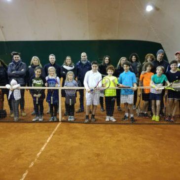 Tennis: Torneo (e auguri) di Natale
