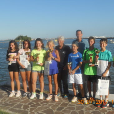 Tennis: concluso il Memorial Guido Donzella Under 12-14-16