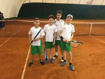Tennis: gli U12 si qualificano alla fase regionale