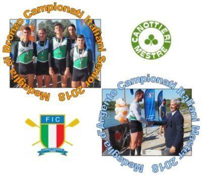 Canottaggio: Medaglie Tricolori ai Campionati del Mare 2018!! ☘️🇮🇹️👍💪