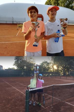 Tennis: i campioni Sociali Junior
