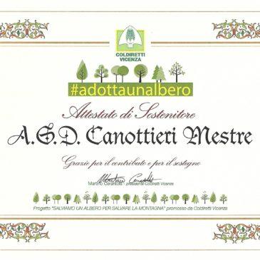 Gli Abeti di Asiago alla Canottieri Mestre: #adottaunalbero