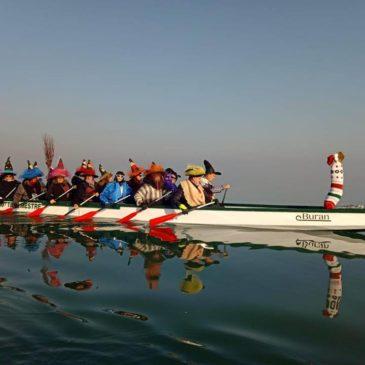 Canoa-kayak: Befane in dragon boat per Venezia