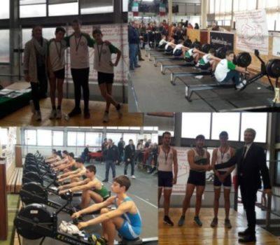 Canottaggio: medaglie… medaglie… medaglie… ai Campionati Regionali Indoor 2019!!☘️