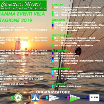 PRESENTAZIONE CALENDARIO MANIFESTAZIONI VELICHE 2019