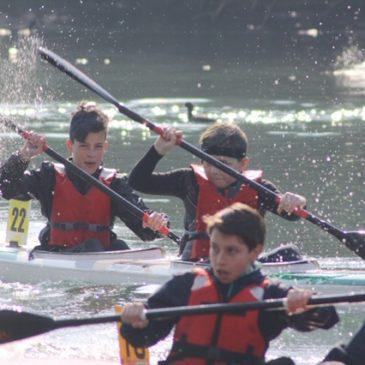 Prima gara per gli atleti della Canoa
