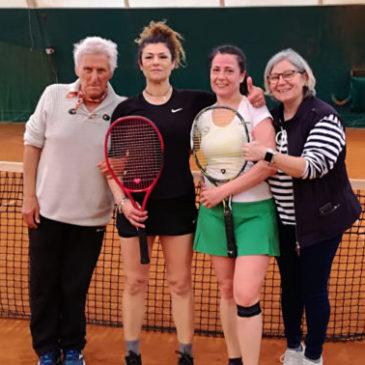 Tennis: Ladies 45 seconde in regione!
