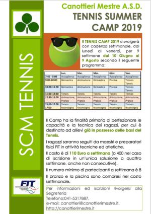 Tennis: Summer Camp