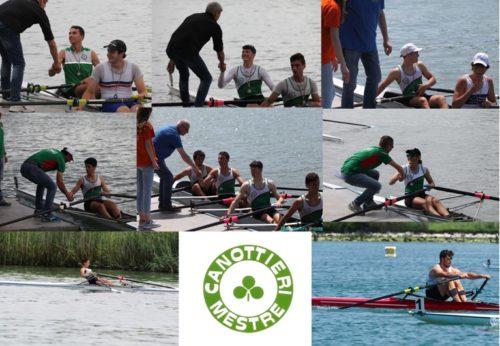 Canottaggio: GRANDISSIMI risultati per la nostra Squadra a San Giorgio di Nogaro!!🥇🥈🥉☘️