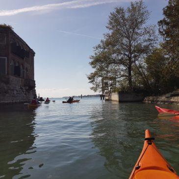 Canoa-kayak: Domenica 20 ottobre – Forte di S. Andrea e Isola della Certosa