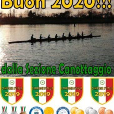 Canottaggio: BUON 2020!!☘️🌟👍💪
