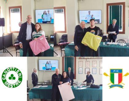 Canottaggio: Atleti ed Allenatore della Canottieri Mestre premiati dal Comitato Veneto!!🏆☘️👍💪