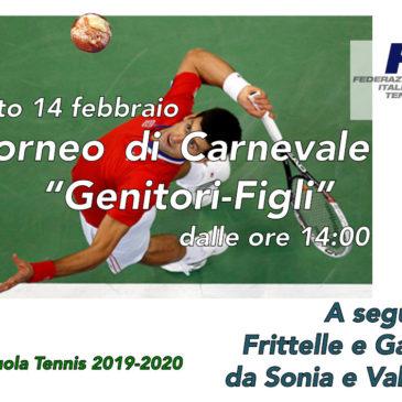 Tennis: Torneo di Carnevale