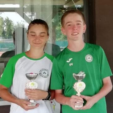 Tennis: Doppio Misto bianco verde!