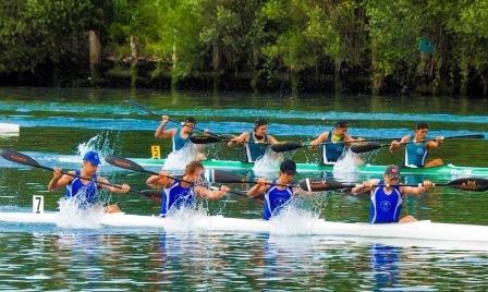 Gli atleti della canoa ripartono alla grande a San Giorgio di Nogaro
