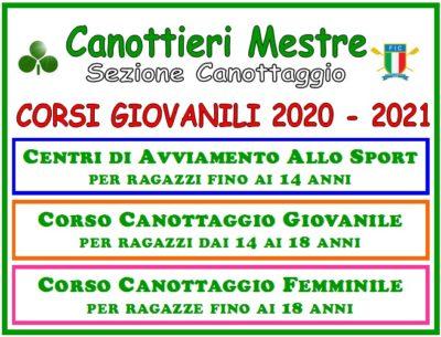 Canottaggio: aperte le ISCRIZIONI ai CORSI GIOVANILI 2020 – 2021